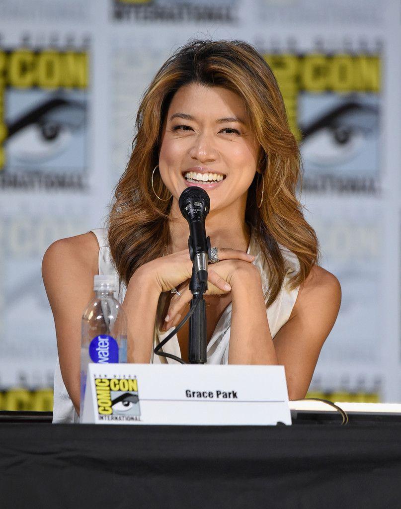Grace Park Battlestar Galactica Reunion Panel Sango Comic Con