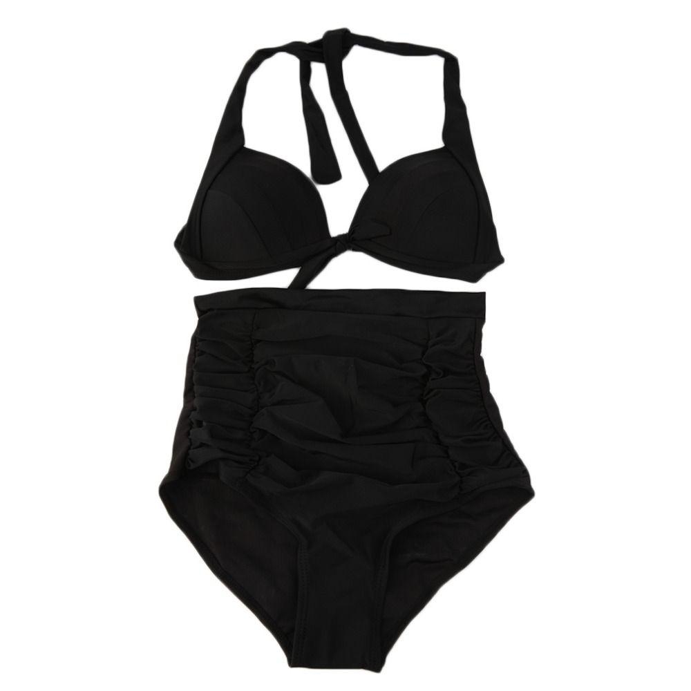 Cheap Vita alta Bikini Set RETRO Pinup Rockabilly Vintage Costume Da ...