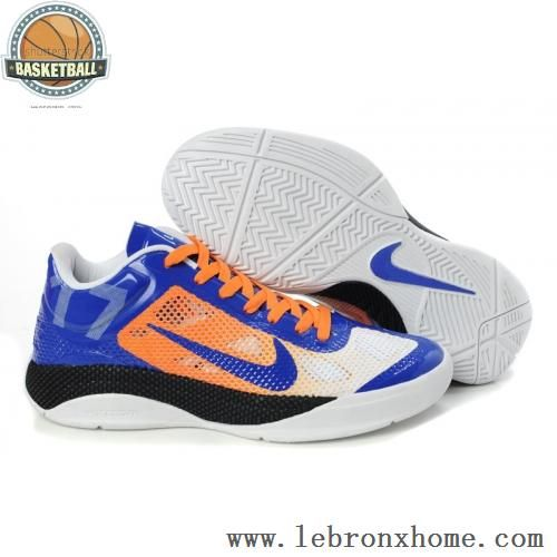 new concept 52483 7b8fb Nike Zoom Hyperfuse Low Jeremy Lin Shoes Blue Orange
