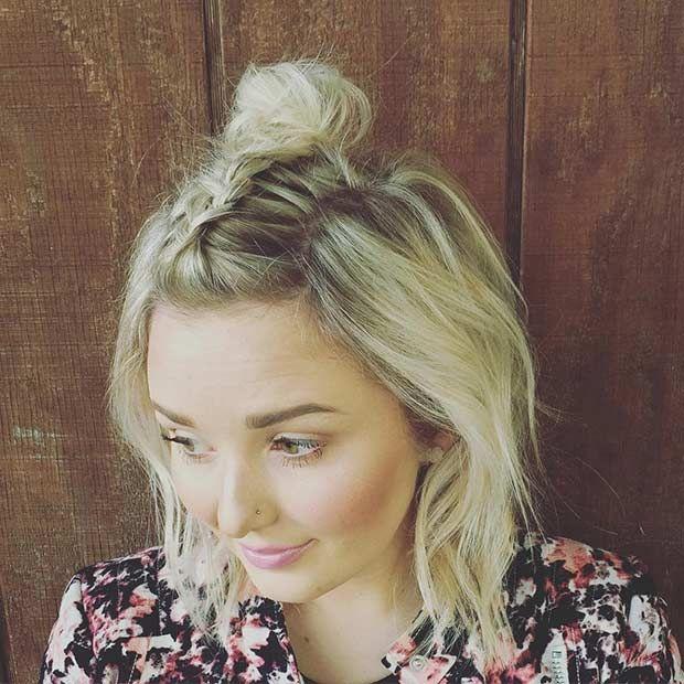 Schicke Geflochtene Frisuren Für Mittellanges Haar 4 Haare