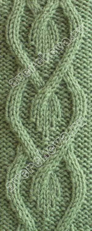 Knitted Diamonds In Diamond Pattern Catalog Knitting Patterns