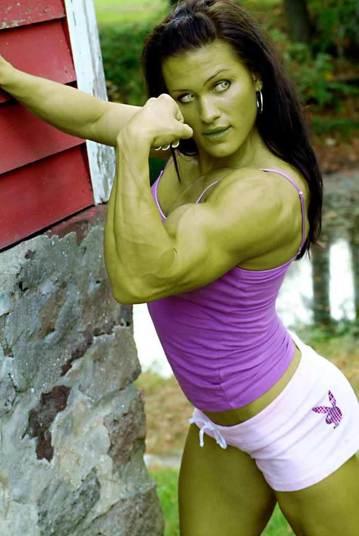Incredible Hulk Girl