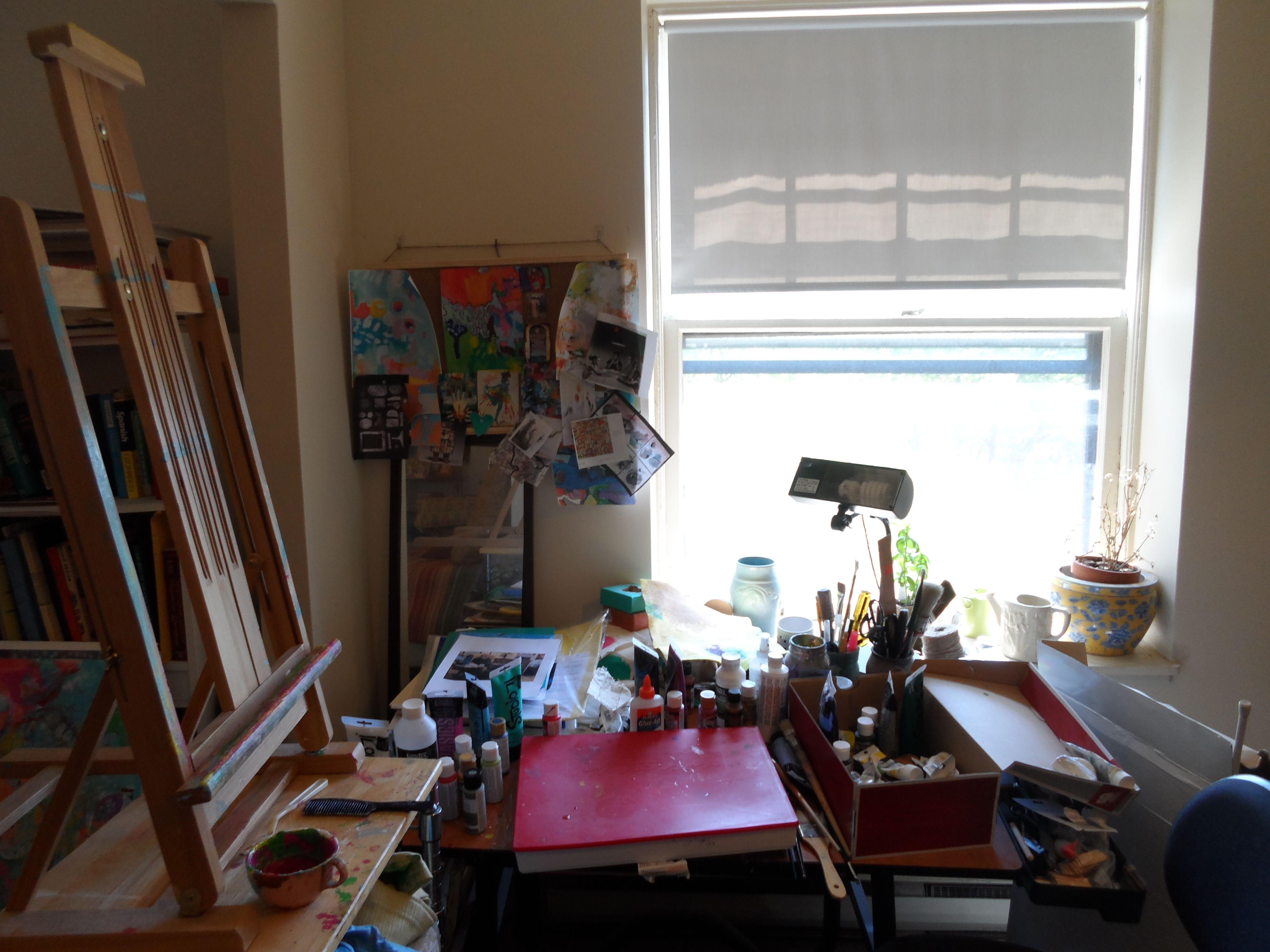 "my ""studio""   karen bauman"