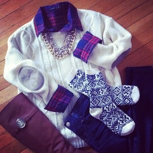 perfect cozy outfit for winter @Hilary S Rushford / Dean Street Society
