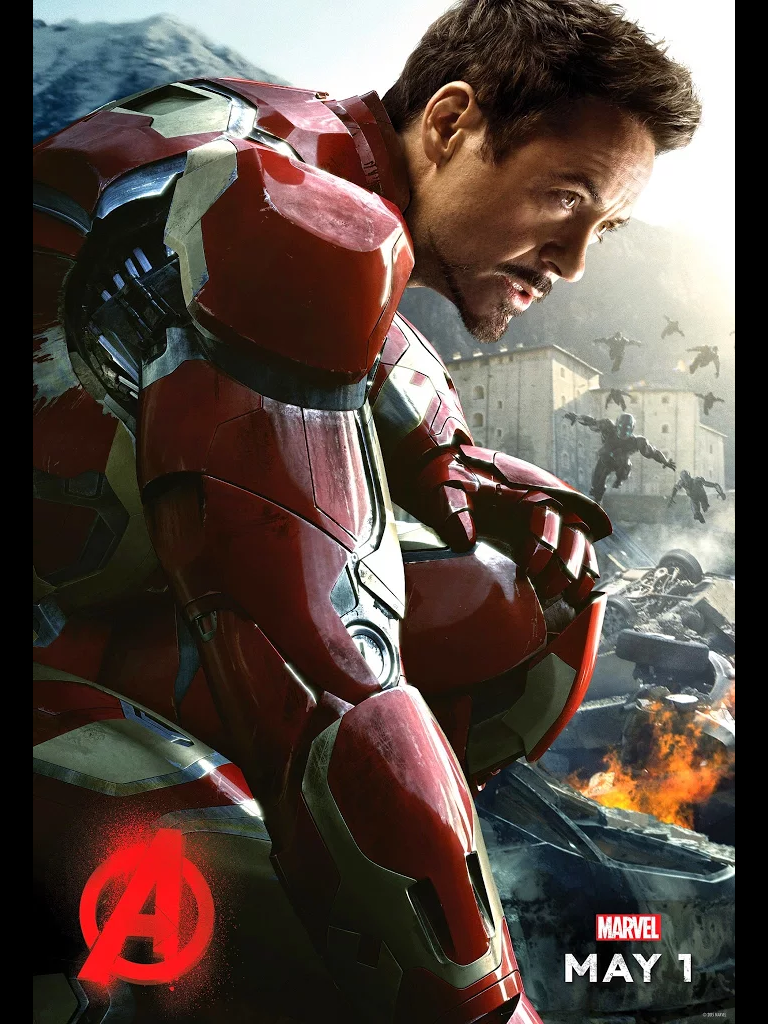 The Avengers Age of Ultron Movie Art Silk Wall Poster 13x20 24x36 inch Iron Man