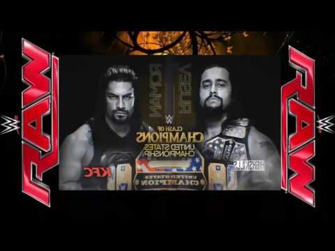 WWE Raw Clash of Champions By Japan Full Highlights 26 Semtember 2016