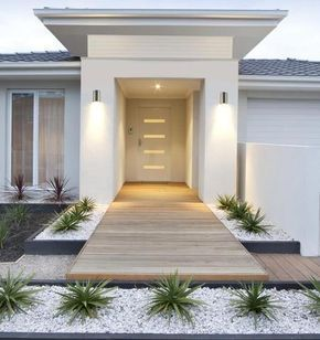 One-Light Outdoor Wall Fixture #modernfrontyard