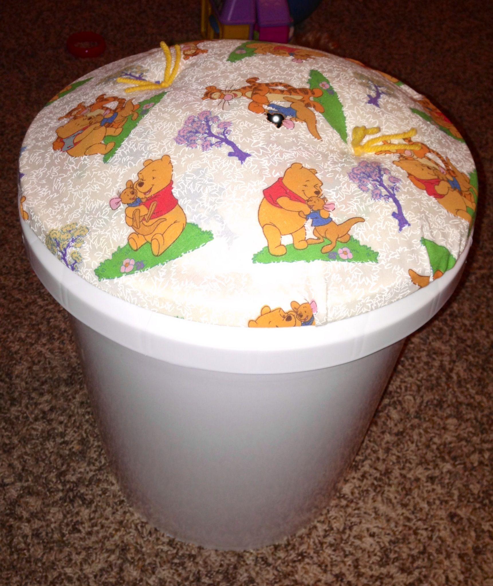 Bucket Seat For My Pooh Kindergarten Classroom
