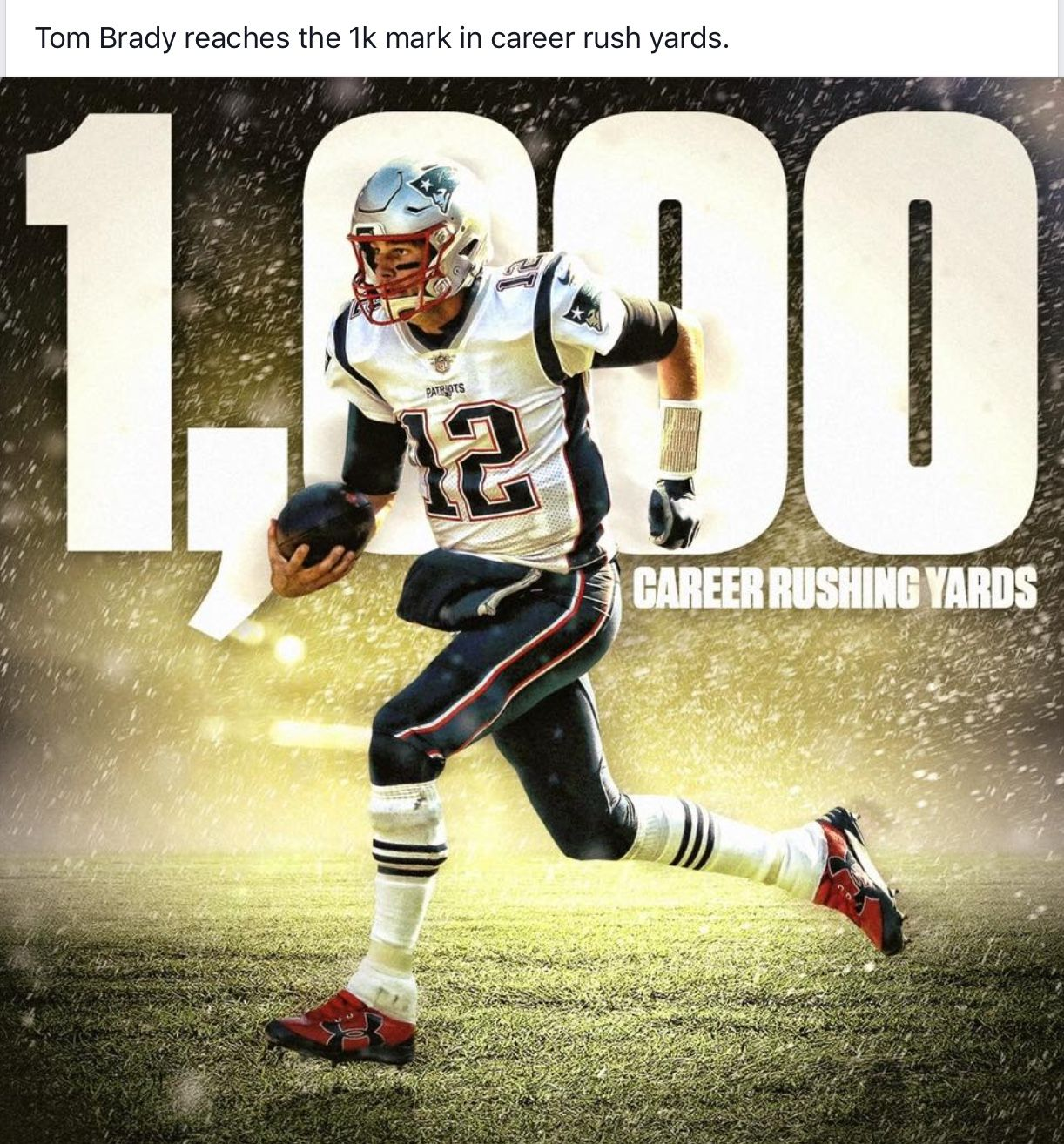 Finally Another Goal On 12 2 2018 Tom Brady Patriots New England Patriots