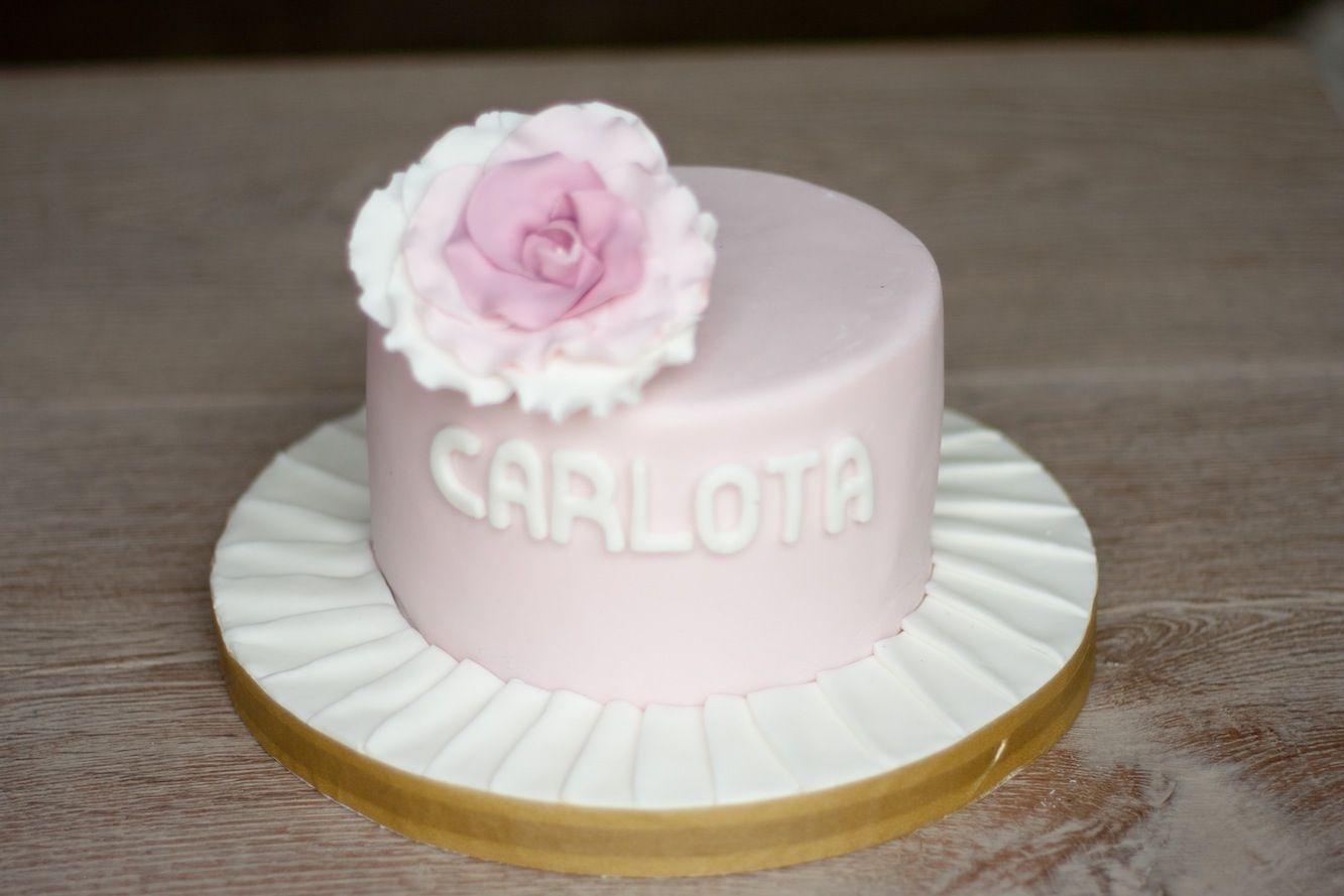 tarta riquisima en La Cocina de Carolina