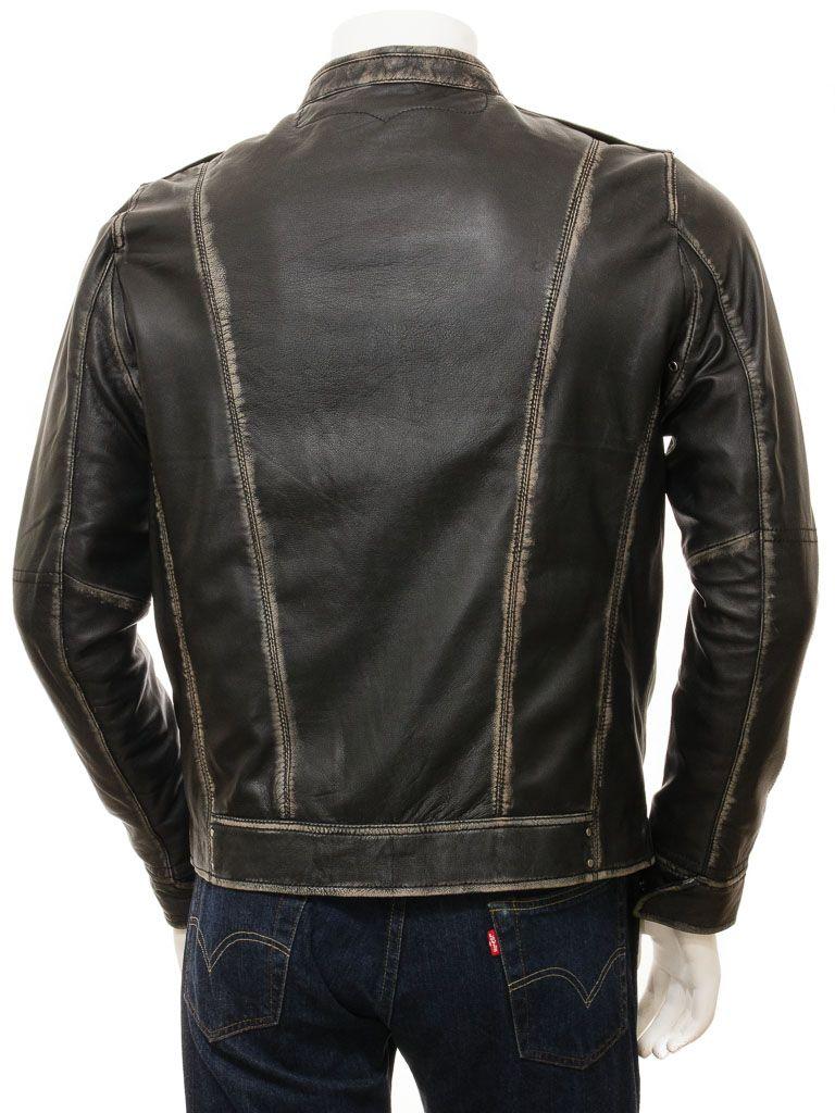 Qastan New Men S Black Sheep Leather Jacket Qmj84 Qastanwears Online Store Powered By Storenvy Leather Jacket Sheep Leather Leather Jacket Men [ 1024 x 768 Pixel ]