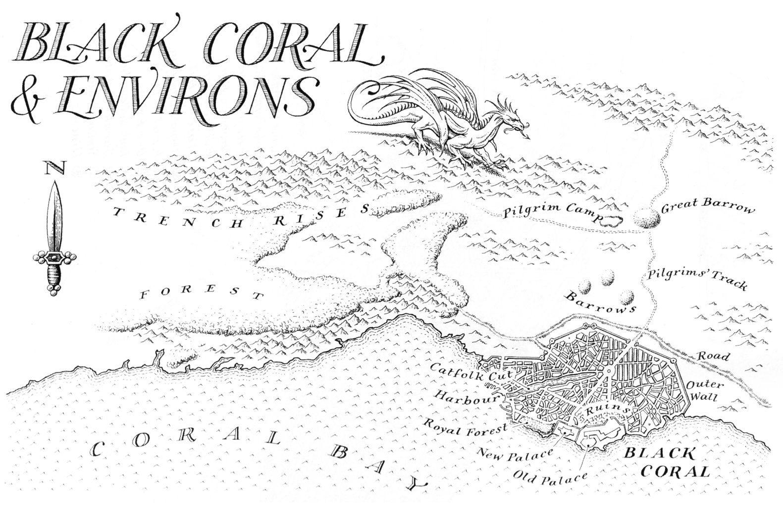 BlackCoral_Environs / MALAZAN BOOK OF THE FALLEN ~ Steven