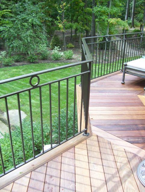 Best Exterior Metal Railing Custom Porch Metal Railings 640 x 480