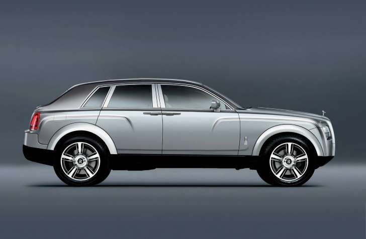 Rolls Royce SUV Sneak Preview profile