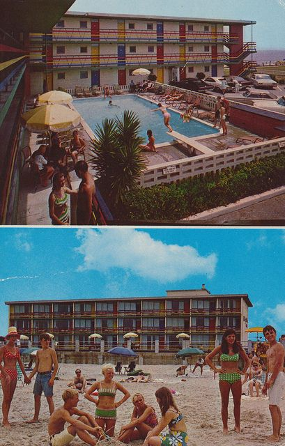 Holiday Sands Motel Virginia Beach Virginia With Images