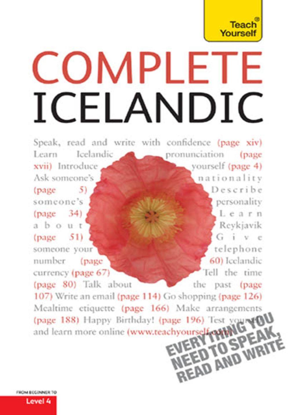 Complete Icelandic Beginner To Intermediate Book And Audio