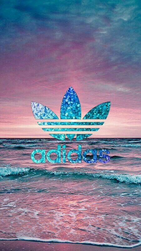 Fond d'écran Adidas avec fond de mer en arrière plan super ...