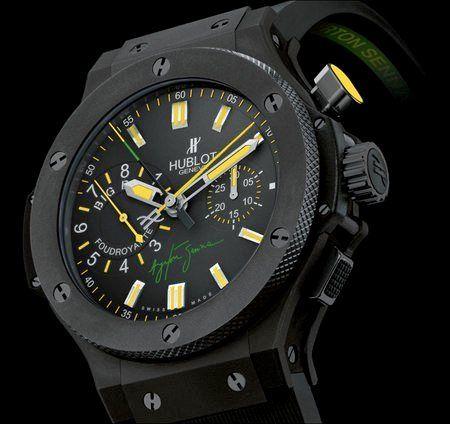 Marca Ayrton Senna - Produtos - Coleção de Relógios - Business - (Hublot - Ayrton Senna watch)