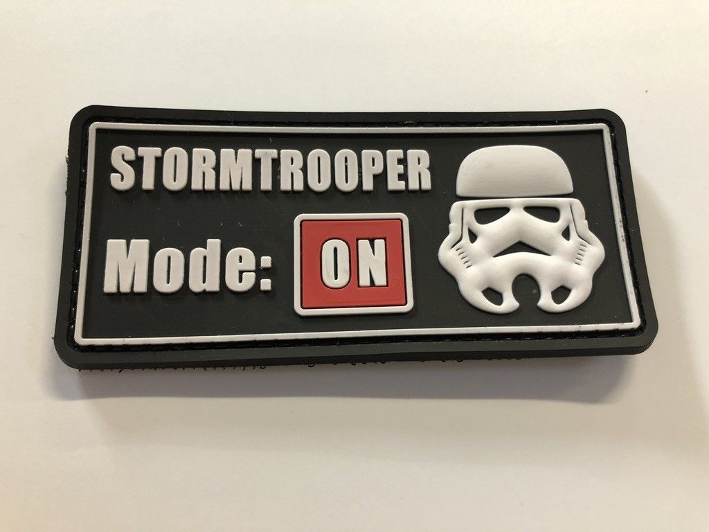 SH*T HAPPENS PVC MORALE PATCH HOOK TACTICAL ARMY FUNNY AIRSOFT PAINBALL