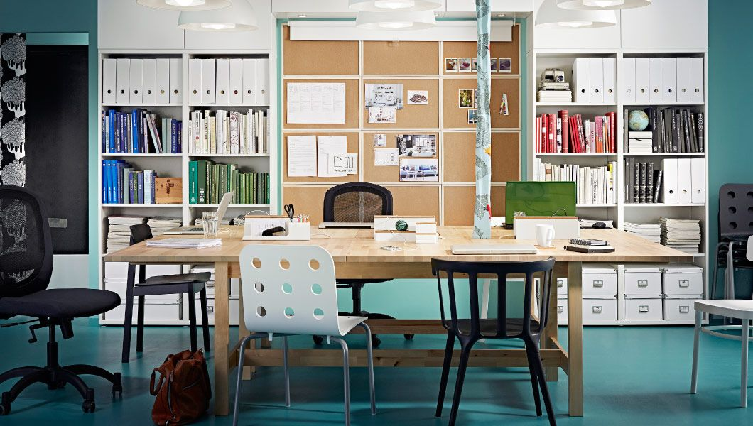 Us furniture and home furnishings home office design for Ufficio design ikea