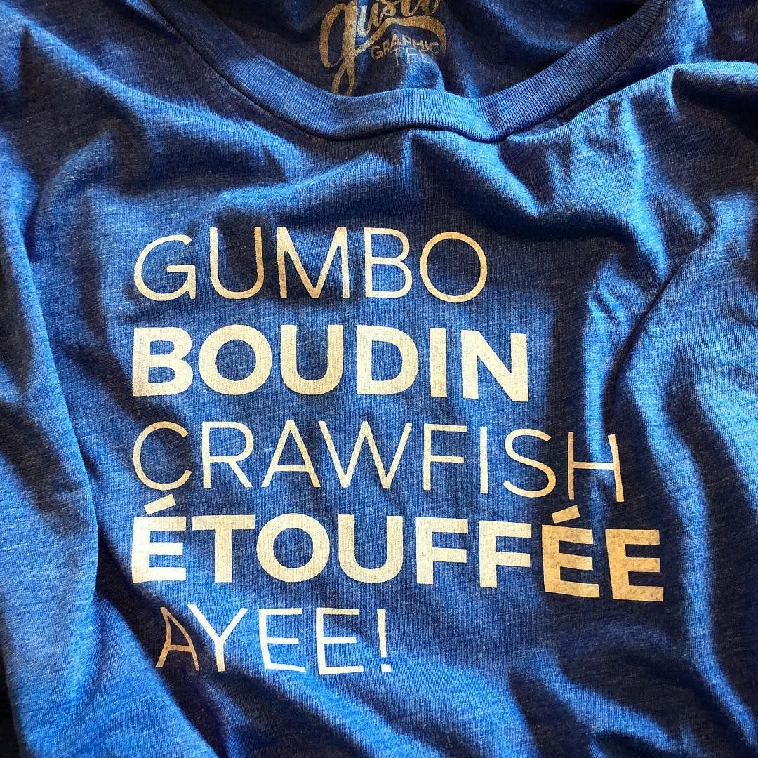 677281e19 I love my soft shirt and all of the yummy cajun food it promotes! Get in my  belly cajun goodness! Cajun t-shirt by Gusto Graphic Tees!