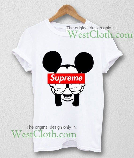e930a00a4 Mickey Mouse supreme T-shirt, Mickey Mouse supreme shirt available for  toddler and youth and men and women adults