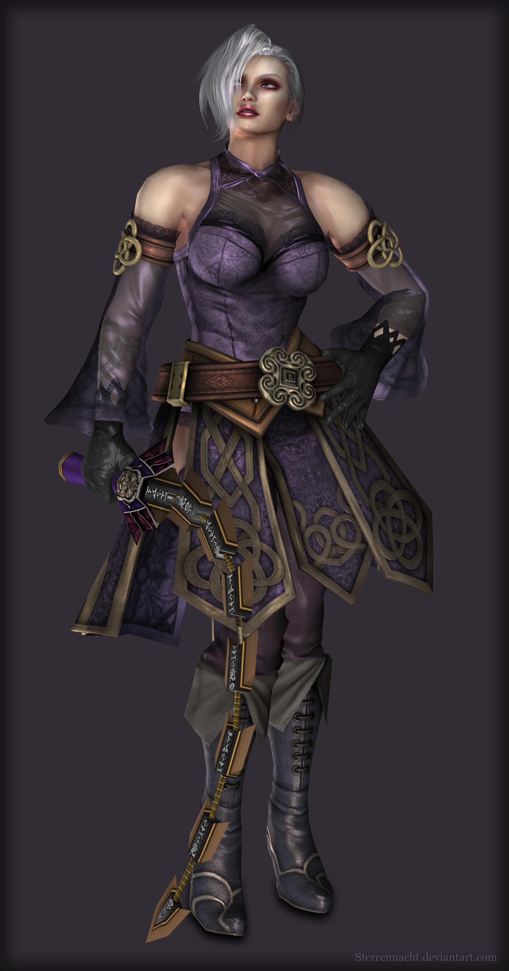 Soulcalibur IV Ivy Valentine (alternative) by