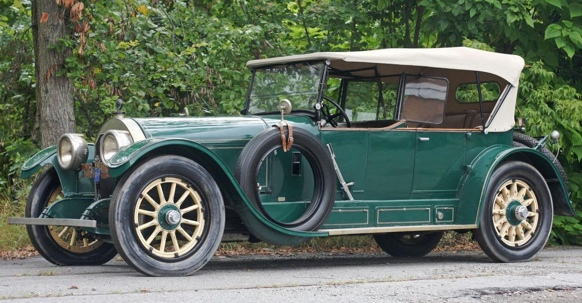 "1918 Locomobile Model 48-2 Sportif Touring Car - ""Preserved"""