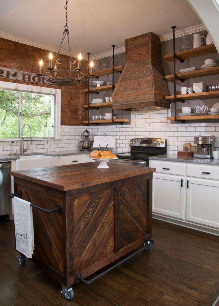 Cocinas rusticas diseños y los detalles que no pueden faltar ...