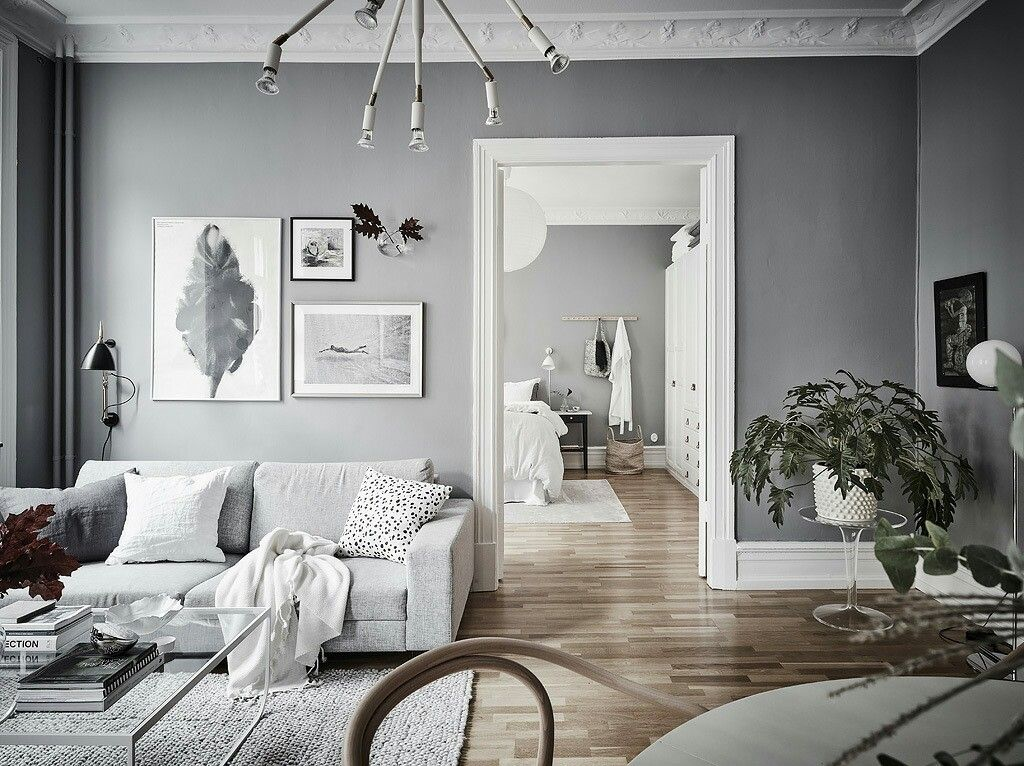 Livingroom Neutral Colours Sofa Grey