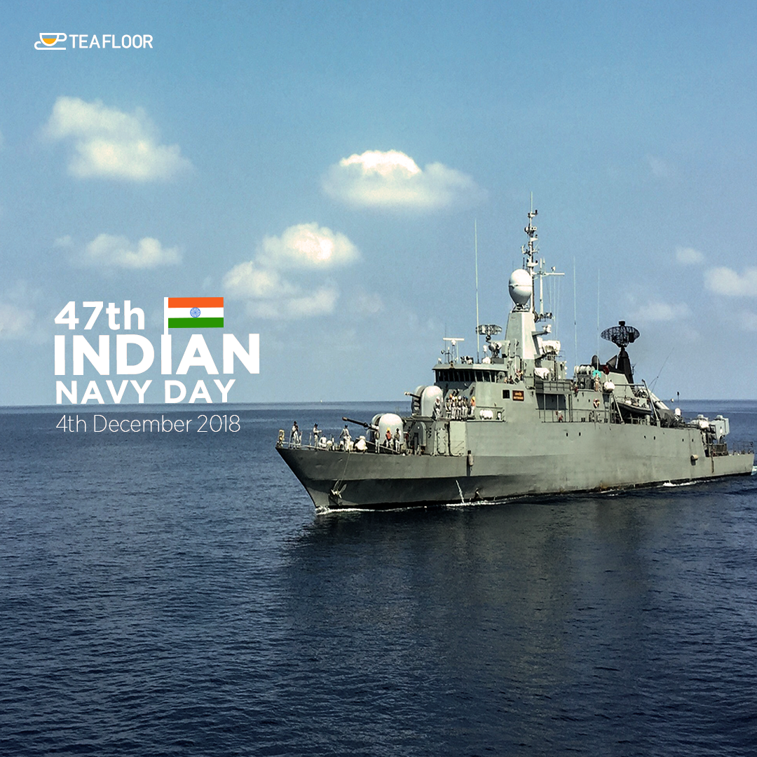Indian Navy Day Teafloor Navy Day Indian Navy Day Online Tea Store