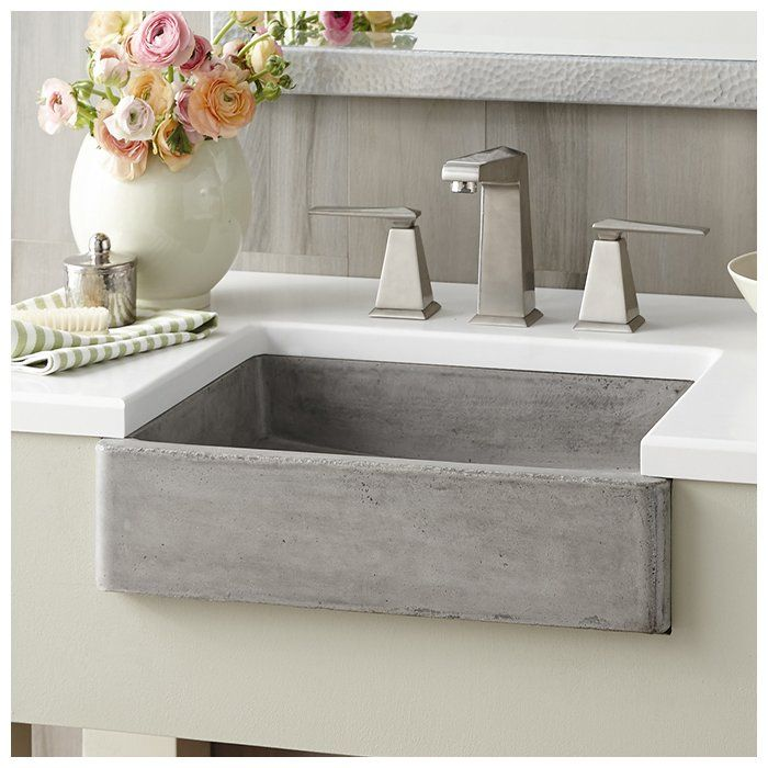 Nipomo Stone Rectangular Undermount Bathroom Sink ...