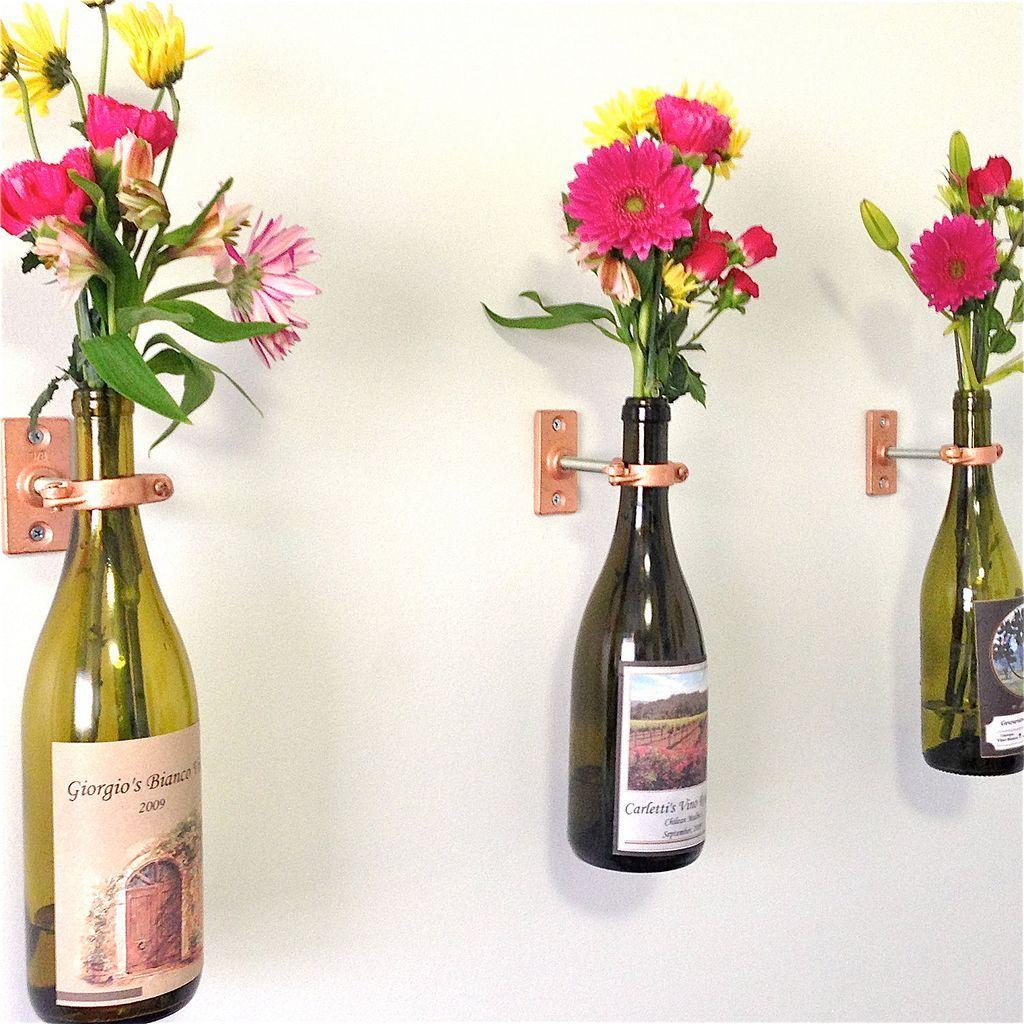 63 wine bottle vase diy wine bottle vases bottle and wine 63 wine bottle vase diy floridaeventfo Gallery