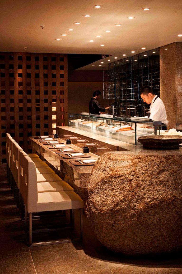 Sushi Bar Design, Japanese Restaurant