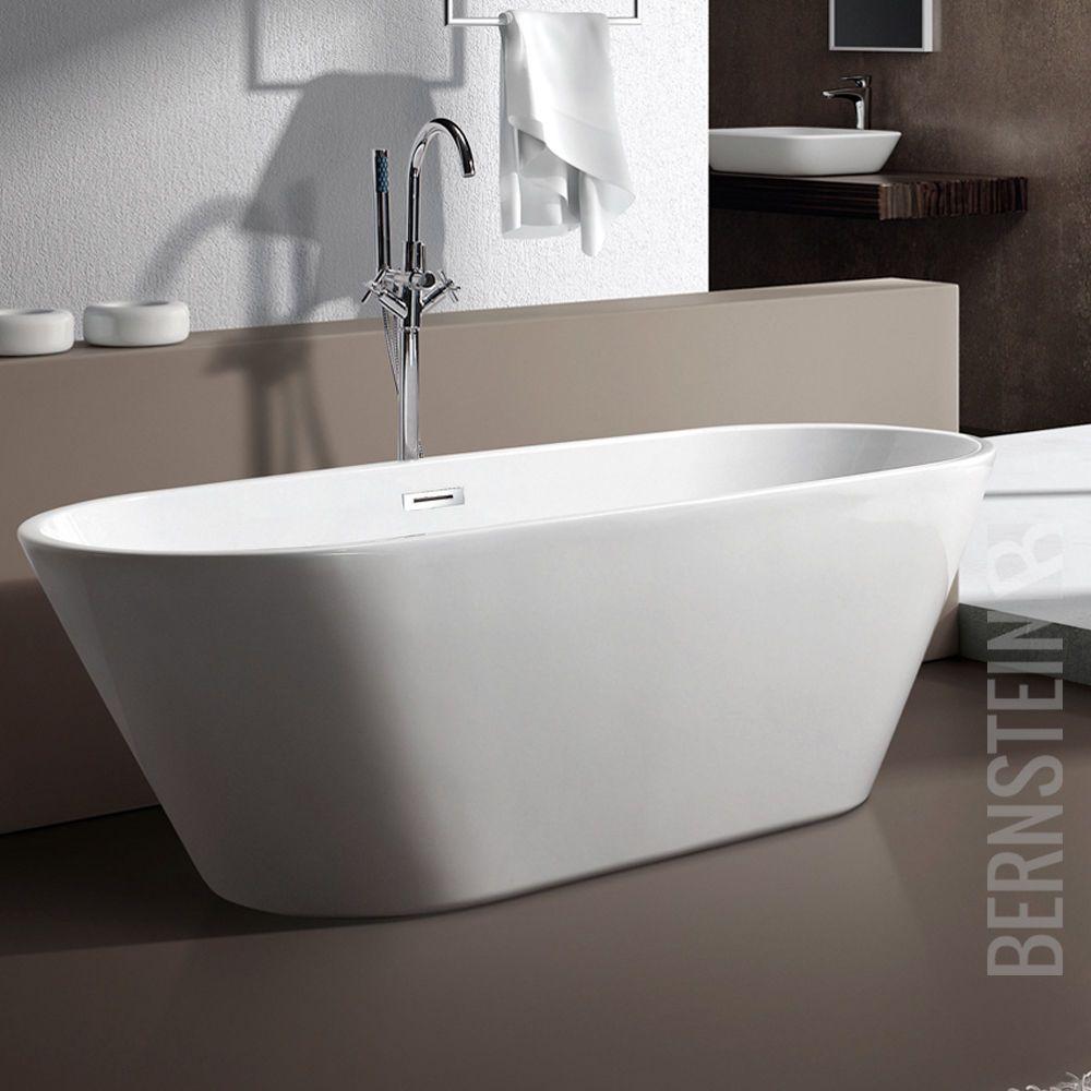 Bernstein Design Badewanne Freistehende Wanne Lugano Acryl Armatur Ebay In 2020 Badewanne Freistehende Badewanne Moderne Badewannen