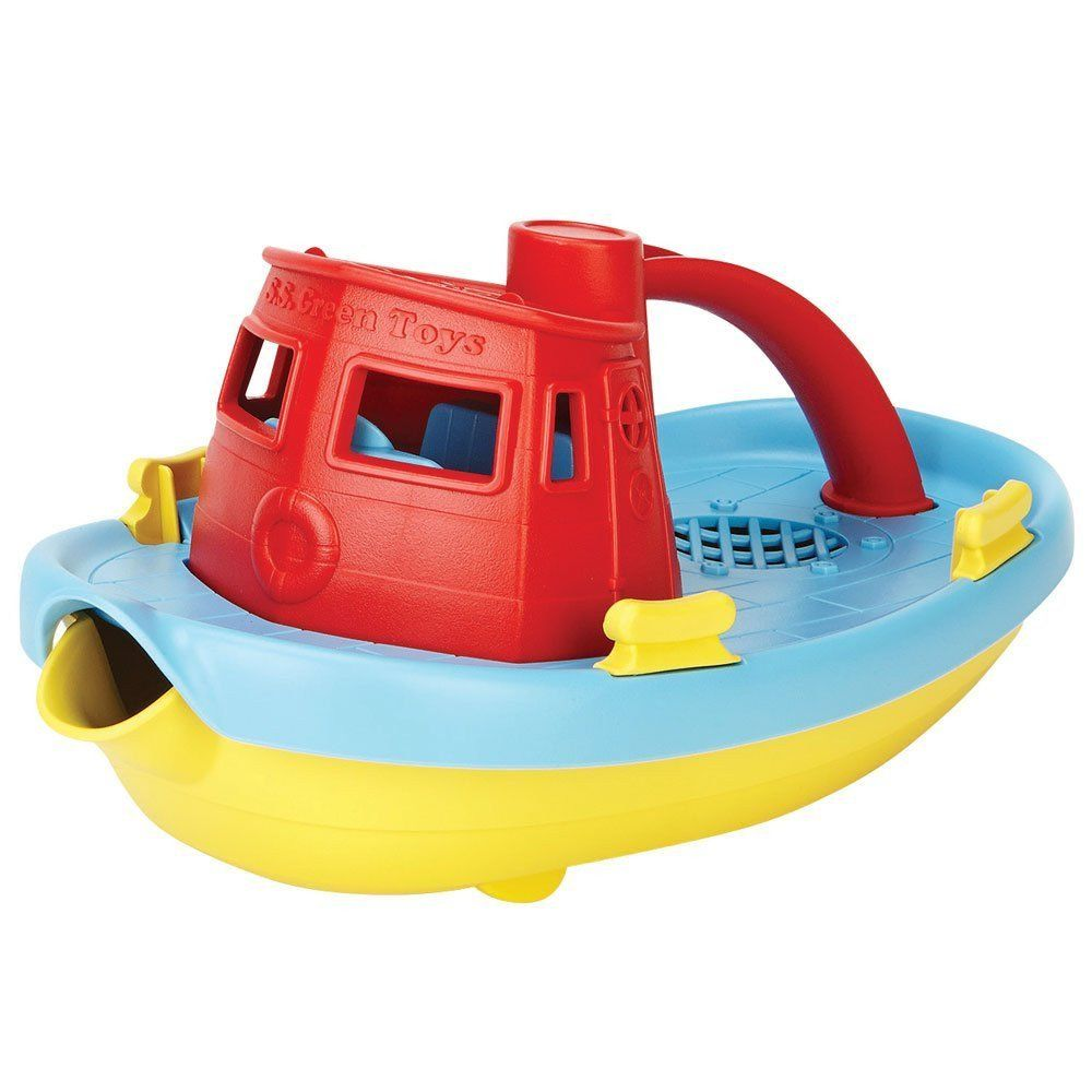 Green Toys My First Tugboat | Shop for Bath & Shower | Pinterest ...