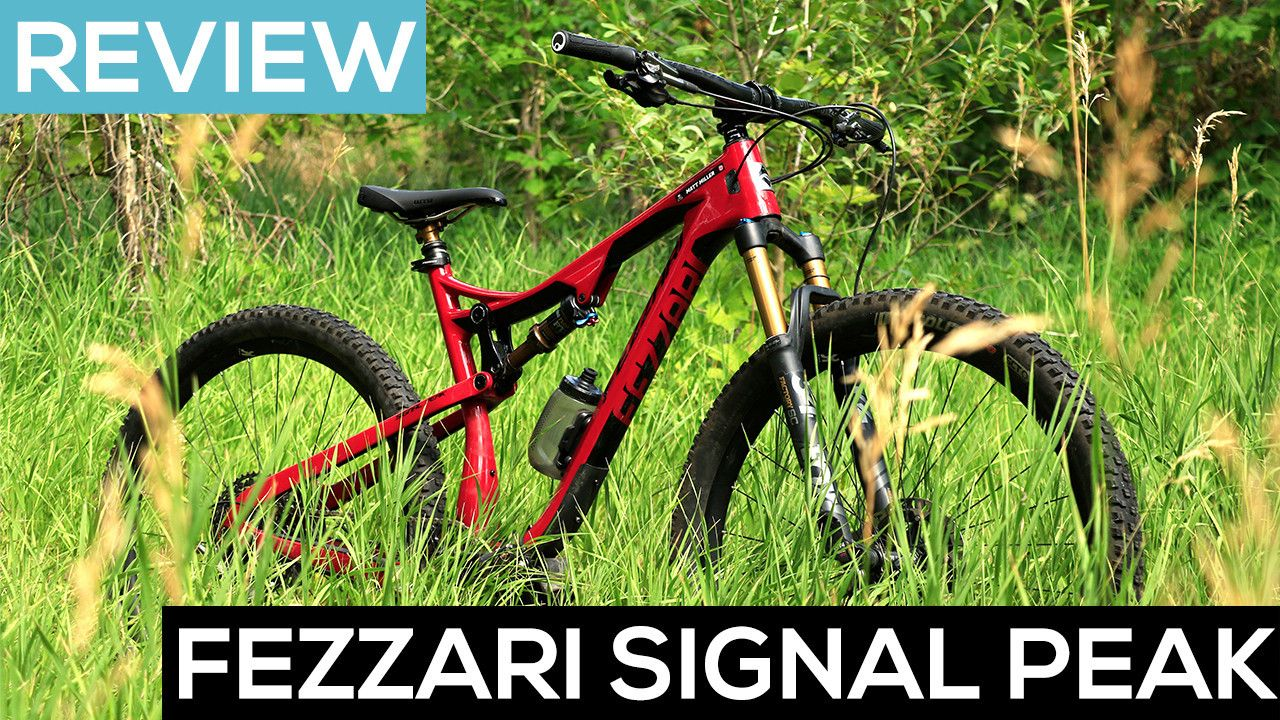 The Fezzari Signal Peak Trail Bike In Action Video Review With