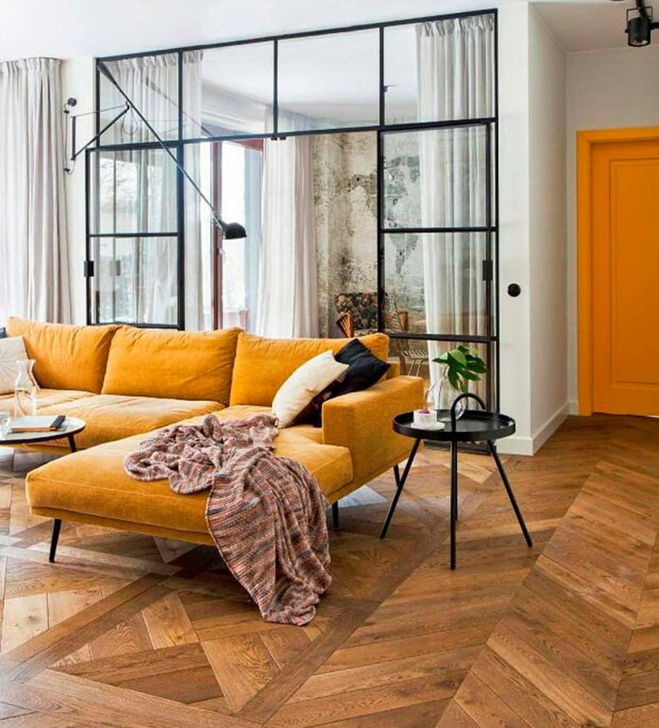 Fuerza Visual Los Muebles De Color Mostaza Pueden Ir Muy Bien En  # Muebles Color Mostaza
