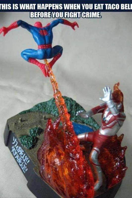Dork Info's Geek Humor #SpiderMan