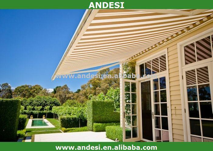 Advantage Of Economical Retractable Aluminum Awning 1 Sunshade 2
