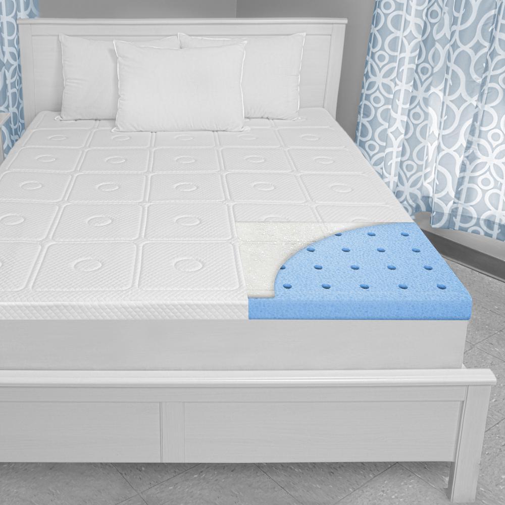 Biopedic Extreme Luxury 3 In Full Memory Foam Mattress Topper