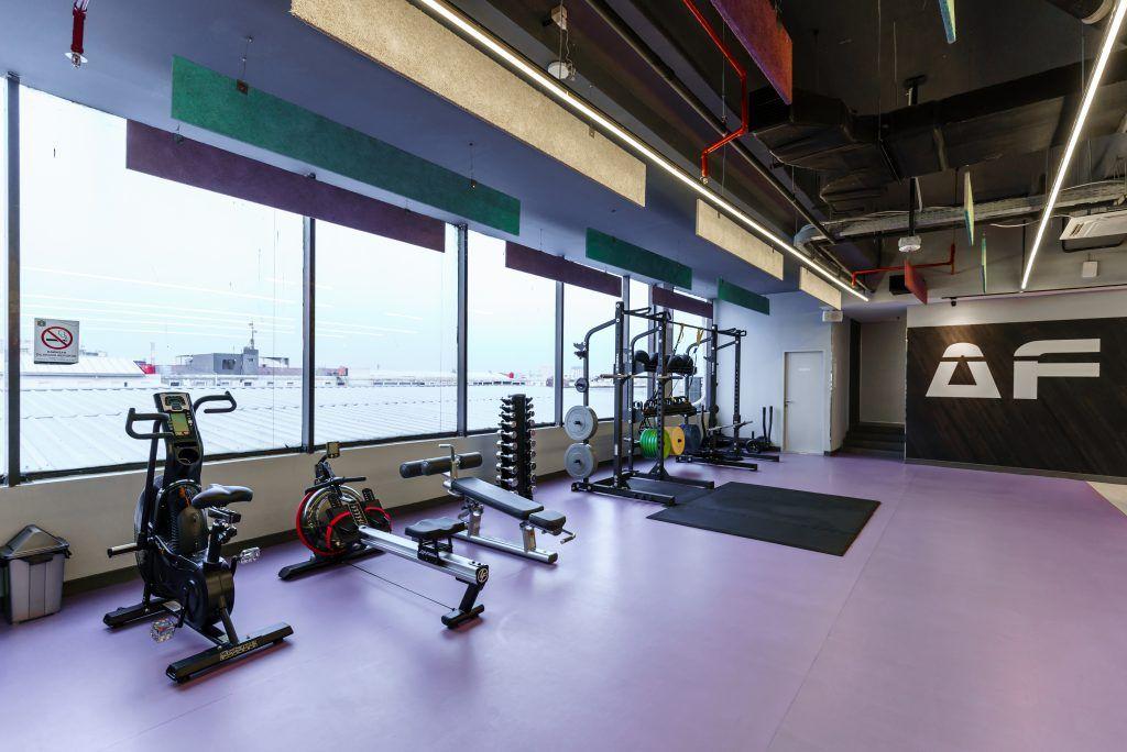 Desain Interior Tempat Fitness Gym Proyek Anytime Fitness La Codefin Kemang Proyek Kaca Ruma Tempat Interior Gym