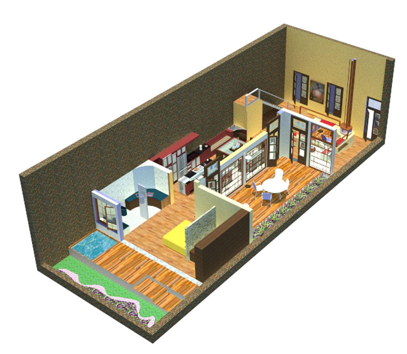 Loft de Casa Chorizo | Diseño de Interiores - Trabajos | Pinterest