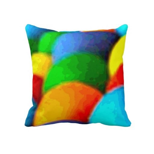 Rainbow Art Sofa Pillow by Just For Mom