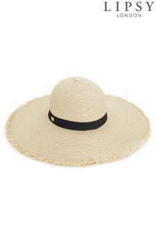 8217abc86e7 Lipsy Fringe Edge Straw Hat