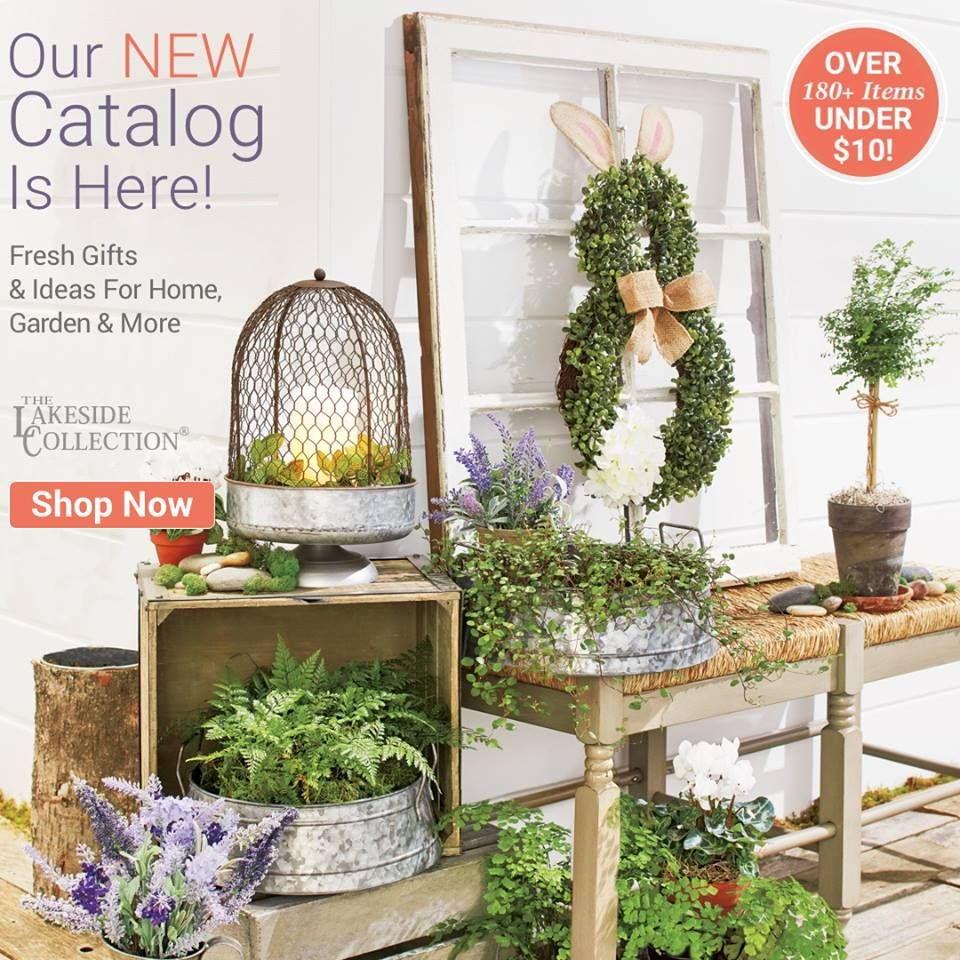 Getting that Home Garden Ready This Spring?  Lakeside collection