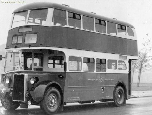 Manchester Corporation Bus 1959