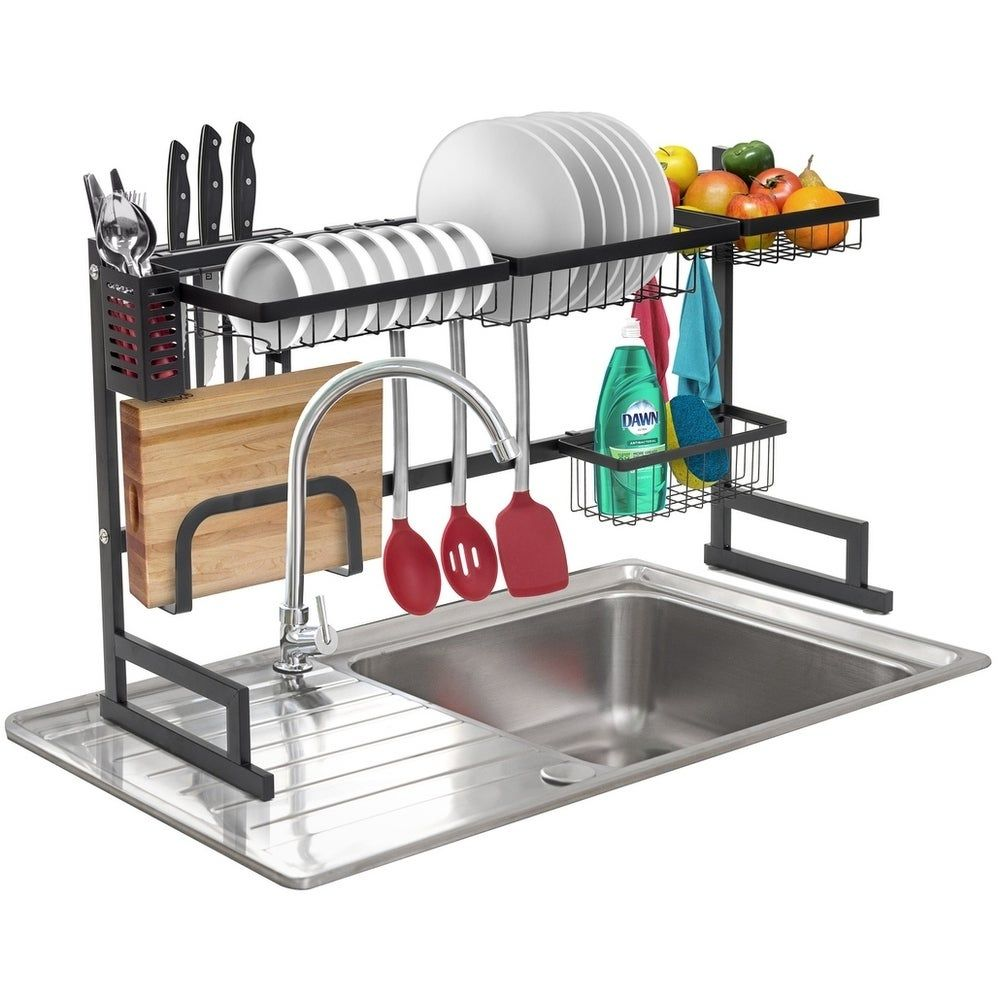 Overstock Com Online Shopping Bedding Furniture Electronics Jewelry Clothing More Dish Rack Drying Kitchen Counter Storage Drying Rack