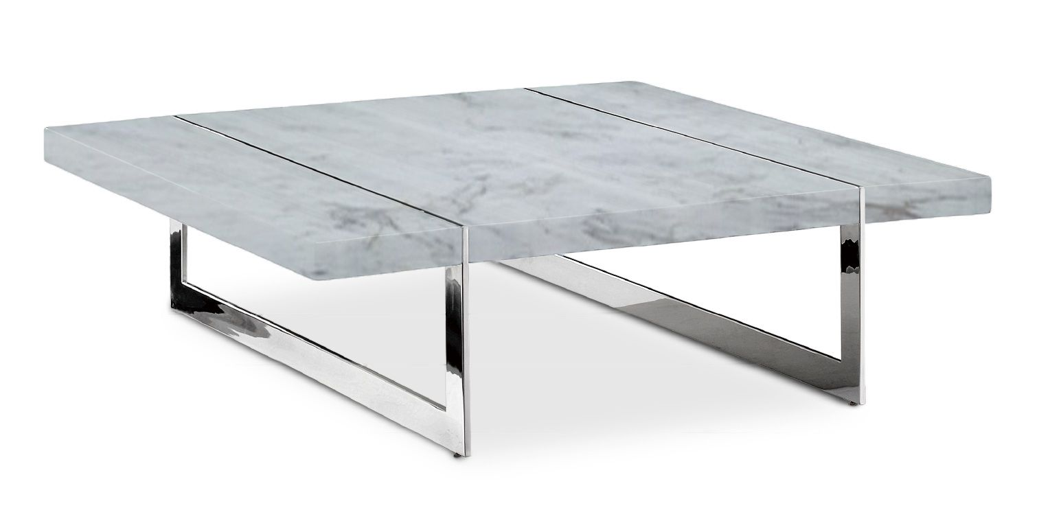 Cleo Modern Marble Coffee Table Marble Top Coffee Table Coffee Table Modern Coffee Tables [ 753 x 1545 Pixel ]