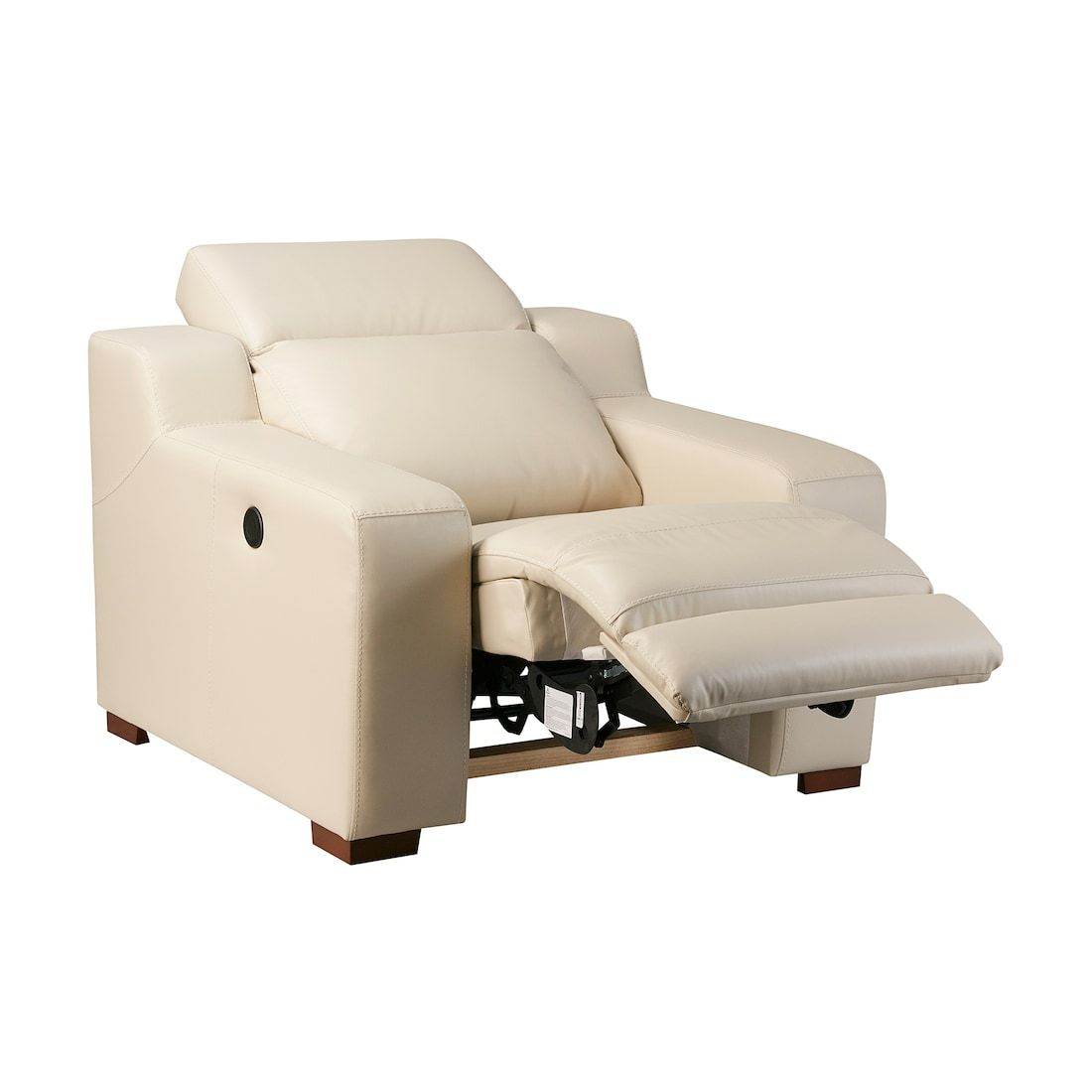 Home Furniture Store Modern Furnishings Décor Reclining Armchair At Home Furniture Store White Armchair